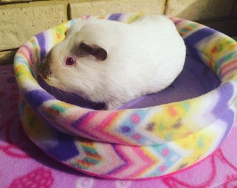 ROUND FLEECE BED 30CM