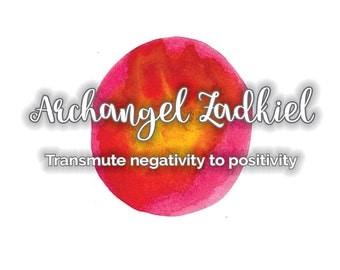 Archangel Zadkiel, Spiritual Wisdom Report, Transmute Negativity to Positivity, Instant Download