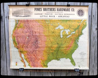 Wooden Topographic Map Of Any United States State D Relief - Arkansas relief map