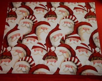 Reversible Christmas Placemats on Sale!
