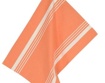 Towel 50x70cm pastel fabric Orange