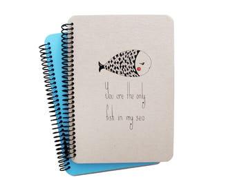Fish Series Spiral Notebook 1