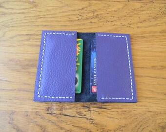 Clutch card blue violet/purple