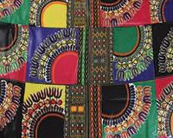 African Print Fabric Economy Priced for 6 yards