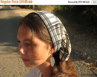 ON SALE Classic chiffon hair cover,extra wide hair wrap,tichel,hair snood,hair wrap,womens wide headcover,large headband,liturgical,religiou