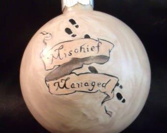 Mischief Managed Ornament