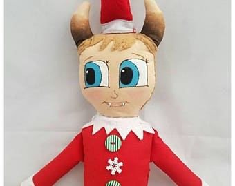 Nick the Krampus Elf