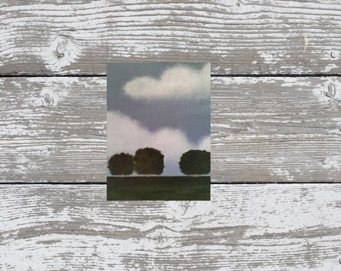 Trio - Oil Painting - Minimalist