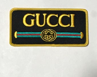 Gucci Iron On Patch Vintage Style
