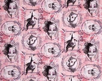 Fabric villains 100 x 90 cm