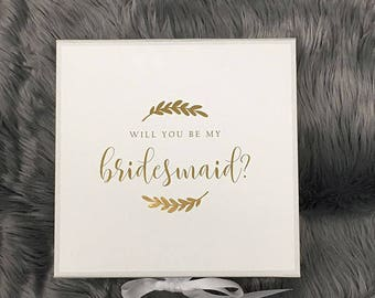 Bridesmaid Gift Box - Foiled