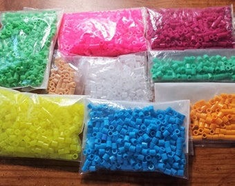 Perler Bead Destash - Perler Bead Lot - ALL 7 Pictures Included - Price includes Priority Shipping