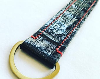 Leather Key Fob Large