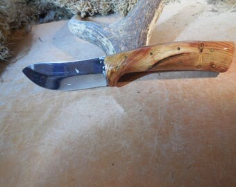 Eric's Oregon Elk Skinning Knife Pacific Pine Handles