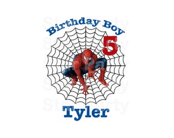 Digital File, Personalized, Birthday, Digital Image, DIY shirt Printable Iron On Transfer Sticker, Birthday Shirt image