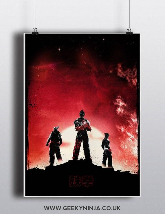 Tekken Inspired Minimalist Poster