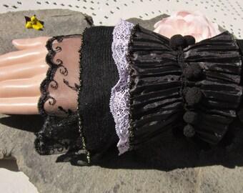Versailles Black Lace bracelet