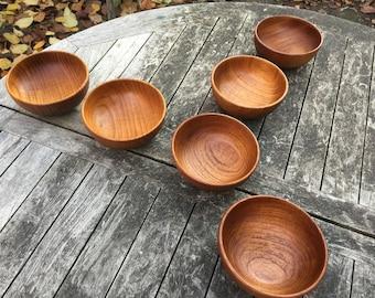 Kay Bojesen Danish Teak Bowls
