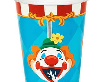 My Carnival Party cups  / Circus / Big top / Carnival / Circus cup