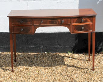 Reproduction Antique Mahogany Dressing Table by 'Redman & Hayles Ltd.'