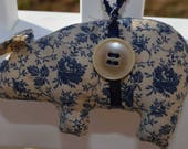 Custom order for Jennifer Day-Howard, cival war blue rose pig and rose lace pig