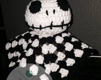 Nightmare Before Christmas Jack Lovie, Lovey, Snuggler, Doll,