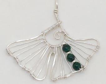 Wire ginkgo leaf