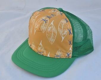 Golden Leaves-  Medium Adult Trucker Hat