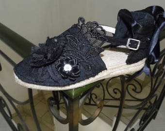 Glamorous Black Lace sneakers