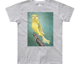 Youth Waterslager Canary T-Shirt - Youth Short Sleeve T-Shirt