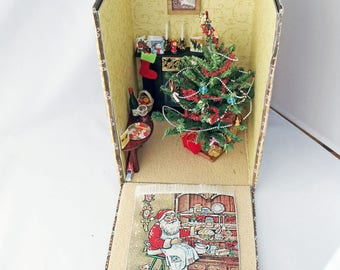 Christmas Scene Box