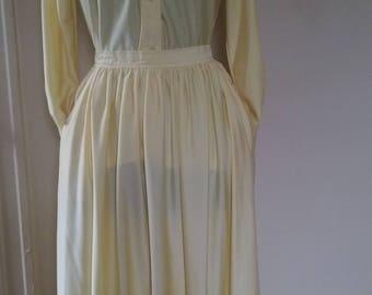 Vintage Oscar De La Renta Skirt Set
