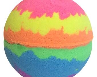 Rainbow Bomb Skin Candy Bath Bomb