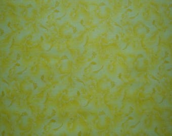 Yellow Tone on Tone Novelty-Choice Fabrics-BTY