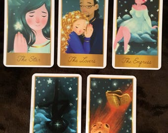 Last Chance to Order - Starry Night Tarot Deck