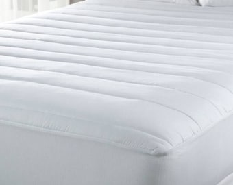 Split Flex King Luxury Mattress Pad - Temperature Regulating- With CinchFit Design to Cinch and Stay in Place!