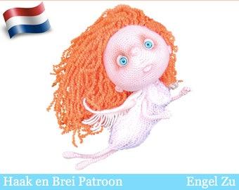 147NLY Haak patroon - Engel Zu - Amigurumi soft toy PDF file by Pertseva Etsy