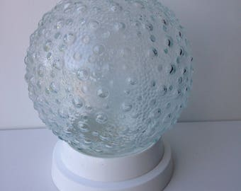 Bubble glass Lampshade seventies