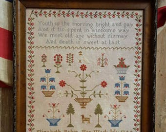 "PINEBERRY LANE ""Elizabeth Baker 1844"" 