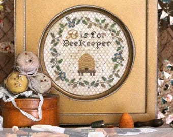 "HEARTSTRING SAMPLERY ""B Is For Beekeeper"" 