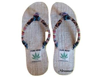 Himalayan Pure Hemp Flip Flops
