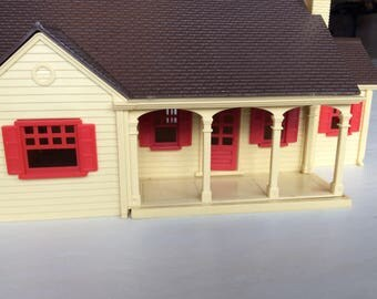 O Scale Plasticville Ranch Home