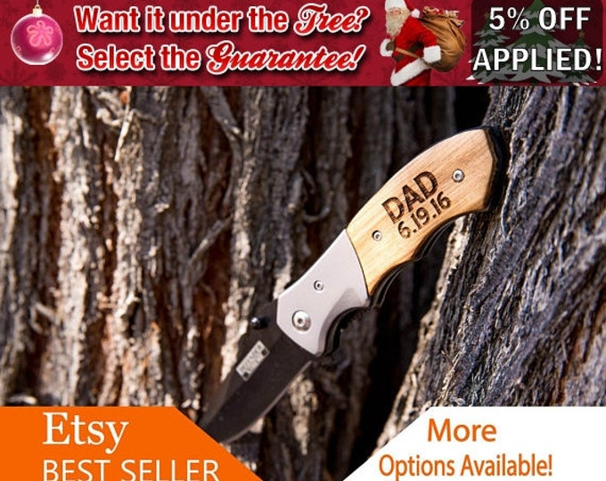 Gift for Dad, Fathers Day Pocket Knife