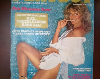 Playboy December 1978 vintage magazine collectible
