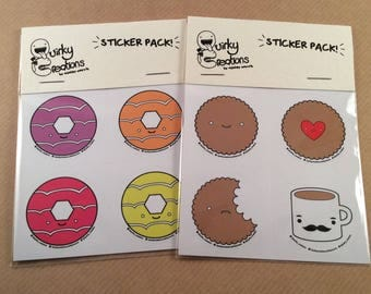 Sticker packs (4 per pack)