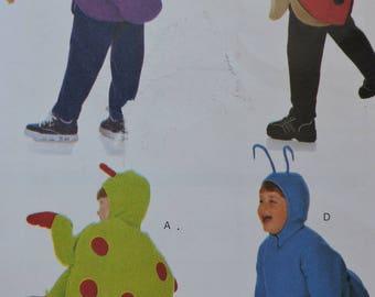 Antenna Ladybug Beetle Fly Child's Halloween Costume Stage Play Butterick 6293 Pattern Sz. 2 - 8