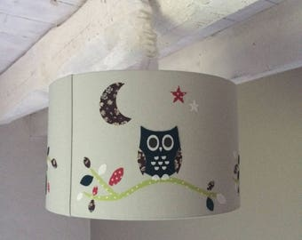 Swoops down day hanging OWL
