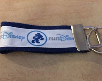 run Disney Key Fobs/Zipper Pulls