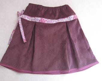 girl corduroy skirt