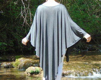 New Collection Tunic Top /Loose Top/Oversize Top/Tunic/Bohemian Tunic/Elegant Tunic/Long Top/Asymmetric Top/Maxi Tunic/Plus size Tunic/